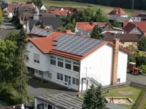 Dautphetal-Allendorf, Dorfgemeinschaftshaus (14 kWp)