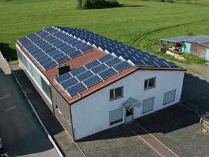 Breidenstein, Fertigungshalle (30 kWp)