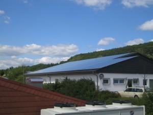 Ehringshausen-Katzenfurt, Fertigungshalle (54 kWp)