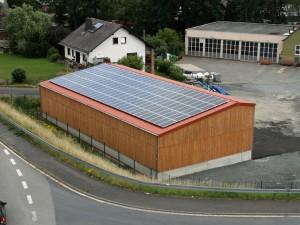 Dautphetal-Dautphe, Salzlager (28 kWp)