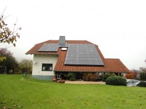 Dautphetal-Elmshausen, Wohnhaus (8,5 kWp)