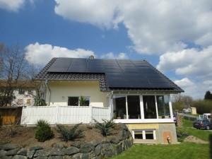 Biedenkopf-Breidenstein, Wohnhaus (10 kWp)