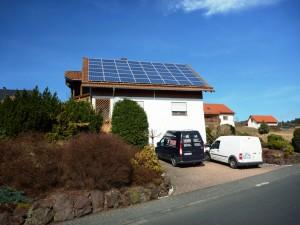 Eschenburg-Eibelshausen, Wohnhaus (9,0 kWp)