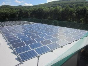 Netphen Produktionshalle 2016 (94,1 kWp)