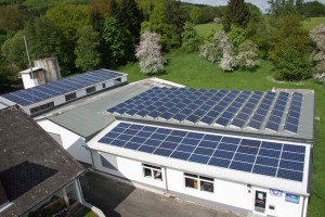 Dillenburg-Frohnhausen, Fertigungshalle und Büro (53 kWp)