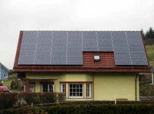 Steffenberg, Wohnhaus (10,0 kWp)