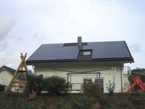 Steffenberg, Wohnhaus (10,5 kWp)